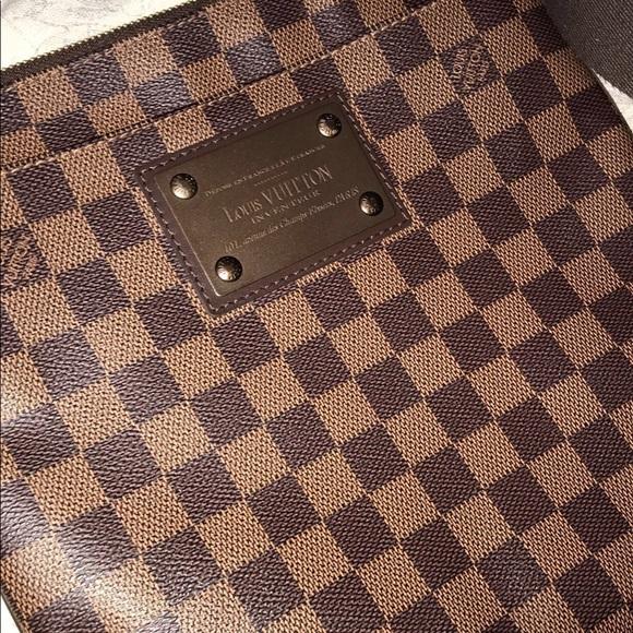 ef3c57afec60ec Louis Vuitton Bags | Brooklyn Pochette Plate Damier Ebene | Poshmark